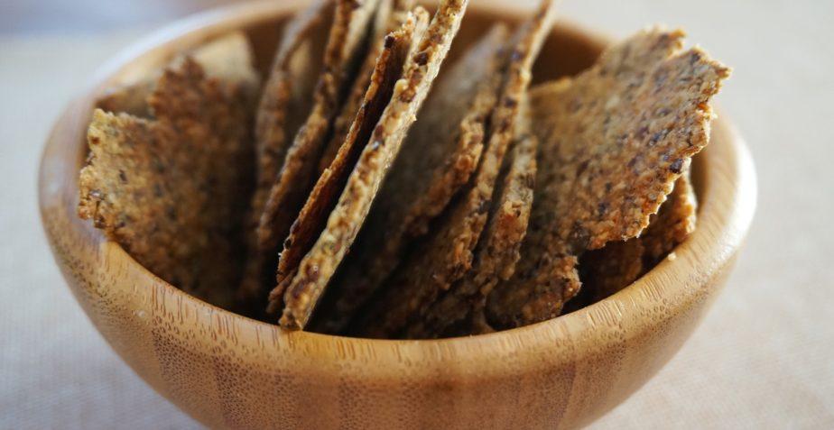 Olivencracker – mehlfrei, sojafrei, Low carb (ketogen)